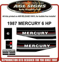 1977 1978 MERCURY MARINE 1500 XS DECAL SET  OUTBOARD 150 reproductions