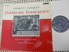 JANEQUIN: Chansons Françaises > Ens Polyphonique de Paris Ravier/ Valois stereo