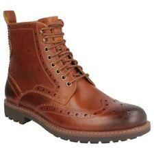 Calzado de hombre botines de piel color principal marrón