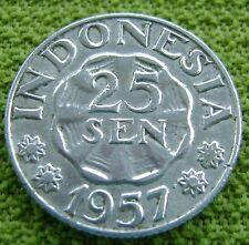 Indonesie - Indonesia 25 Sen 1957