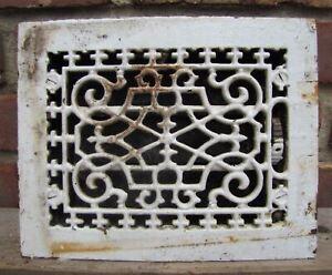 Antique Cast Iron Ventilation Grate old architectural building hardware vent 1