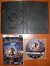 Sherlock Holmes - La Aventura [PC DVD-ROM] FX Interactive, Versión Española