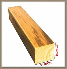 "3 x 3 inch Teak squares, 12"" to 24"" long, planed and edged TEAK, kiln dried"