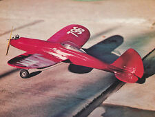 Fireball 1/2A or Electric Sport Plane Plans, Templates & Instructions 40ws