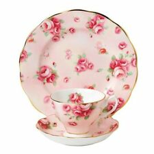 New Royal Albert 100 Years Teacup,Saucer & Plate,  Rose Blush