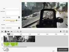 Video Editing Software Record Trim Cut Split Merge Rotate and Mix Videos