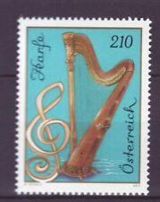 Österreich Nr.  3326 ** Musikinstrumente  Harfe