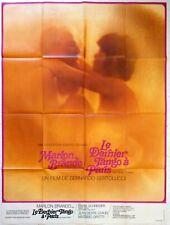 Affiche cinéma LE DERNIER TANGO A PARIS Bertolucci Brando Keller - 120 x 160 cm