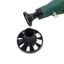 Black Dust Blower Fan For Rotary Tools -Thread M8X0.75 24x18 x10mm P Nm