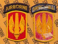 US ARMY 18th Field Artillery Airborne Brigade FA uniform patch