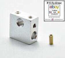 Corps de chauffe 20*20*10 V5 extruder MK7 / MK8 - Prusa i3, Anet A8 heater bloc