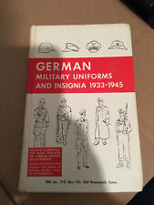GERMAN MILITARY UNIFORMS AND INSIGNIA, 1933-1945, WE inc, HBdj VG