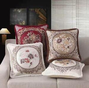Jacquard Cushion 50cm Luxury Cushion Cover Buy Filled or unfilled Sofa or Bed