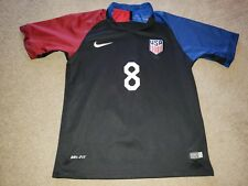 Nike Dri-Fit USA Authentic Soccer Jersey Clint Dempsey Youth Boys sz 26 Medium L