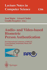 Audio- and Video-based Biometric Person Authentication: First International Conf