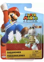 """Super Mario Toy 4"""" Figure Parabones with Wings Jakks Pacific new Sealed"""