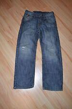 coole blaue Jeans von H&M Gr. 128 Modell & BRAGG