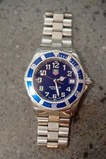 Women's Tag Heuer 2000 - 200M Professional Watch - Blue Dial and Bezel