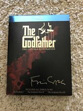 The Godfather Collection(The Coppola Restoration) (Blu-ray Disc, 2008, 4-Disc...