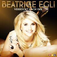 BEATRICE EGLI - VERRÜCKT NACH DIR (2-TRACK)  CD SINGLE  DEUTSCH-POP  NEU