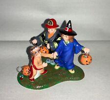 Dept. 56 Halloween Figurines, Trick Or Treaters