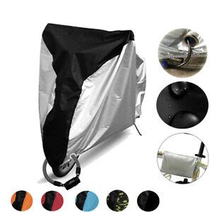 Outdoor Bicycle Bike Cover Rain Dust Protector Waterproof Anti-UV Garage Storage