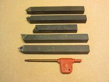 5 x 1010 Glanze Indicizzabile Lathe Strumenti per TCMT Inserti-Myford o mini tornio