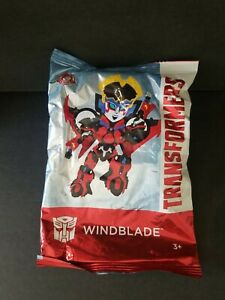 WENDY'S KIDS MEAL TOY TRANSFORMERS  WINDBLADE  BRAND NEW TOY HASBRO 2019 SEALED