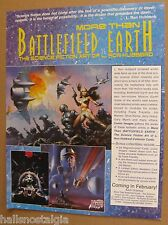 More Than Battlefield Earth Cards Sell Sheet (no cards) 1994 L. Ron Hubbard