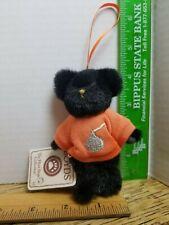 "Boyds Bears Plush Mini Collectable Black Bear ""Spooky"" With Tags   (Bx5101)"
