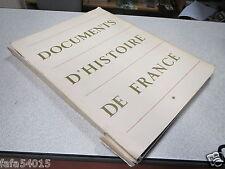 DOCUMENTS D HISTOIRE DE FRANCE EDITIONS DE LA DOCUMENTATION FRANCAISE 1952 *