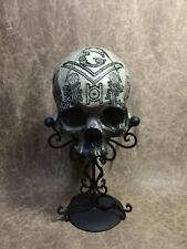 Freemason Lodge skull Replica Of A Real Human Skull Carved By Zane Wylie