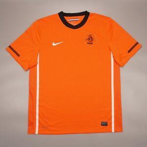 Netherlands 2010 2012 Home Football Soccer Shirt Jersey Camiseta Nike 376906-815