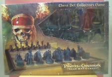 Scacchiera Pirates of Caribbean con scacchii personaggi del film da collezione