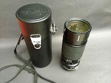 TAMRON 80-200/3.8-4 Macro zoom lens. ADAPTALL 2. For NIKON AI.