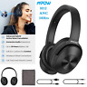 Mpow H12 Bluetooth 5.0 Headset Active Noise Cancelling Super Bass Headphones 30h