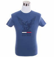 Tommy Hilfiger Men's Short Sleeve Crew-Neck Logo Tee T-Shirt - $0 Free Ship