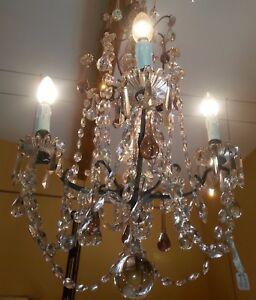 Chandelier 8 Lights To Tassels Drops Water 65 CM Height
