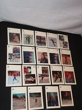 18 INSBRUCK 1976 OLYMPIC POSTCARDS OLYMPICS POSTCARD LOT SKATING SKING