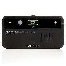 Veho VBC-001-BLK Saem S1 Sunvisor Bluetooth Handsfree Car Kit for Mobile Phone