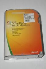 Microsoft Office Home and Student 2007, Retail Package