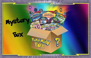 Mystery Box Pokemon : Pokébox, Boosters, Deck, Jetons, Ultra, 100 cartes...