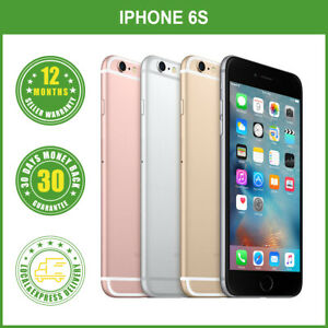New Sealed Box Apple iPhone 6S 16GB 64GB 128GB Factory Unlocked FREE EXPRESS