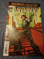 INVADERS  #3 Stock Image War of the Realms Winter Soldier Namor Captain America