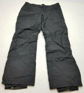 COLUMBIA Omni-Tech Waterproof Women's Black Ski Snowboard Pants Size Large