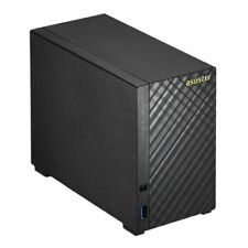 Asustor As3102t V2 2-bay NAS Enclosure No Drives Dual Core CPU 2gb Ddr3l HD