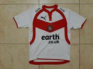 St Helens Home Rugby Shirt 2007 Jersey Size YXL Puma United Kingdom Camiseta