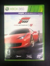 Forza Motorsport 4 - Microsoft Xbox 360 2011 Racing Video Game Used