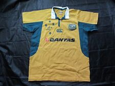 WALLABIES Australia RUGBY home jersey shirt CANTERBURY 2006-2007 adult SIZE M