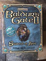NEW & SEALED! Baldur's Gate II (2): Shadows of Amn Large Box (PC, 2000)